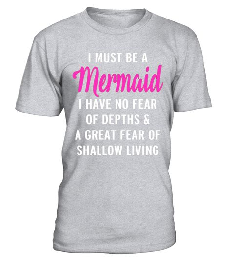 "# I Must Be A Mermaid No Fear Of Depths Scuba Diving T-Shirt .  Special Offer, not available in shops      Comes in a variety of styles and colours      Buy yours now before it is too late!      Secured payment via Visa / Mastercard / Amex / PayPal      How to place an order            Choose the model from the drop-down menu      Click on ""Buy it now""      Choose the size and the quantity      Add your delivery address and bank details      And that's it!      Tags: Looking a different…"