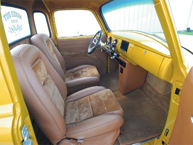 53 chevy 3100 interior truck obsessions pinterest interiors sport truck and classic trucks. Black Bedroom Furniture Sets. Home Design Ideas