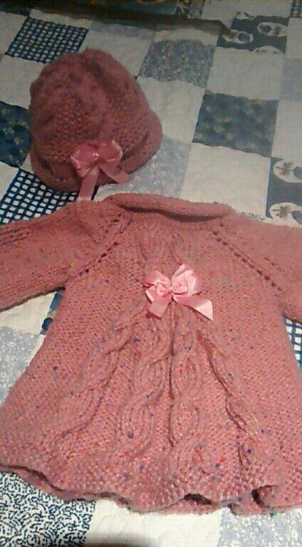 Abrigo en tricot