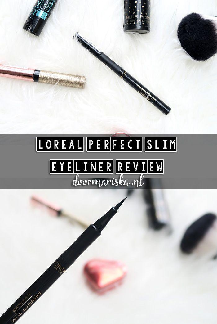 Een review over de L'oreal perfect slim eyeliner! Raad ik deze aan of juist af?