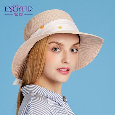 Women sun hats for Summer straw hat with flowers ribbon beach caps large brim female sun hat 2017 good quality straw hat Like and Share if you want this Get it here