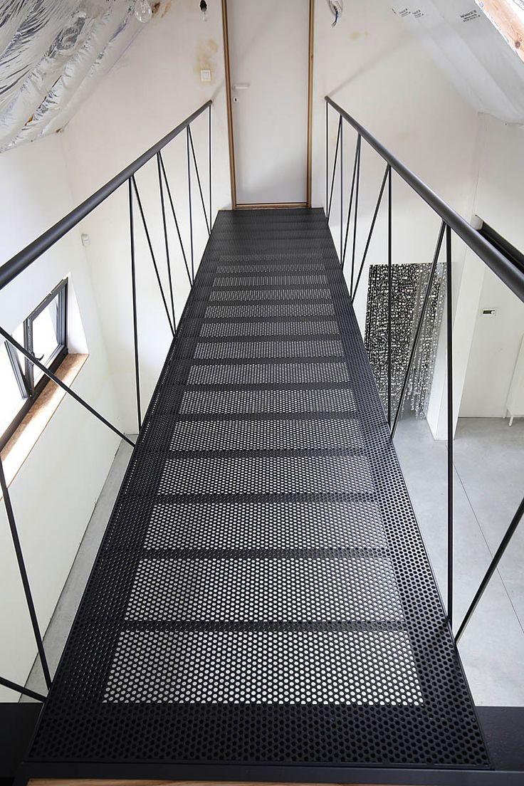 Les 25 meilleures id es de la cat gorie escalier m tallique ext rieur sur pinterest conception for Idee rampe escalier
