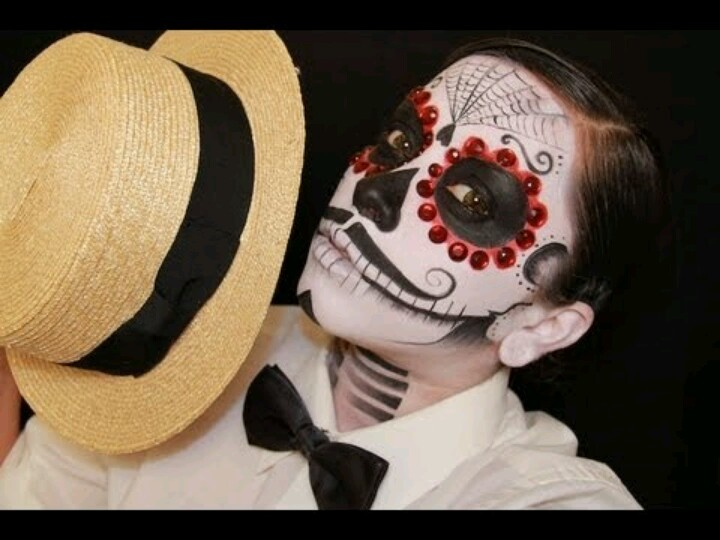 day of the dead makeup men - Google Search catrina Dia de los - ideas of what to be for halloween