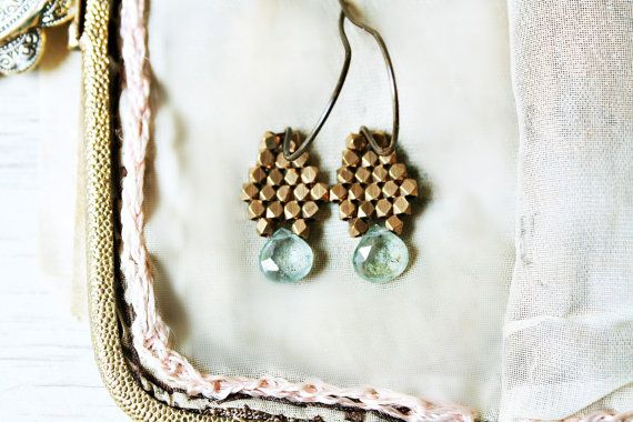 Hey, I found this really awesome Etsy listing at https://www.etsy.com/listing/158116193/moss-aquamarine-earrings-drop-dangle