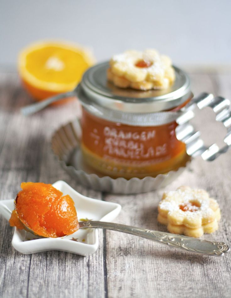 rezept weihnachtliche marmelade aus k rbis orangen apfel marmelade chutneys pinterest. Black Bedroom Furniture Sets. Home Design Ideas
