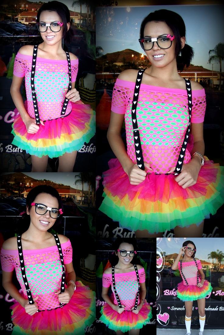 Die besten 25+ Neon rave outfits Ideen auf Pinterest | Rave-mu00e4dchen-outfits Rave-Klamotten und ...