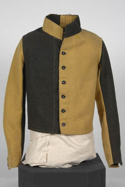 Woollen convict jacket, circa 1840. From the collections of the State Library of New South Wales: http://acmssearch.sl.nsw.gov.au/search/itemDetailPaged.cgi?itemID=442952