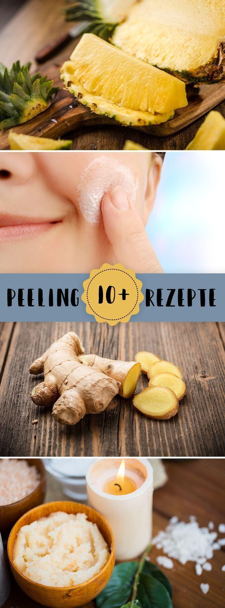 #Hautpflege-Rezepte-Die besten Rezepte für DIY-Peelings – #besten #die #DIYPeel…