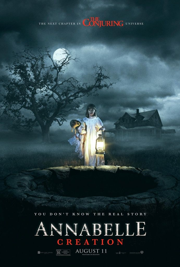 ANNABELLE; CREATION | In theaters August 11, 2017