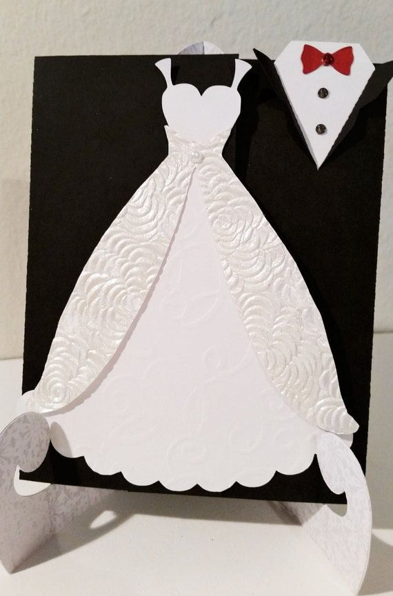 Bride & Groom Wedding Invitations by PhotoNPaperCreations on Etsy