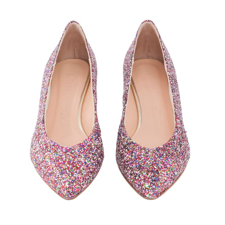 lowheel glitter court shoe bimba y lola ss