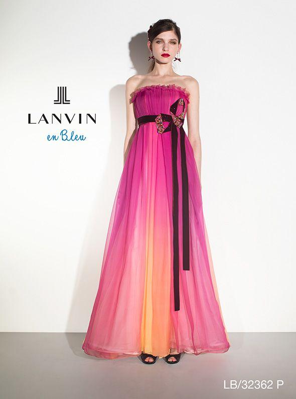 アクア・グラツィエがセレクトした、LANVIN EN BLEU(ランバン オン ブルー)のウェディングドレス、LB32362をご紹介いたします。