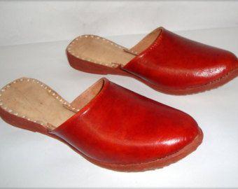 Handmade Leather Women Flats Women Shoes On sale by BONJOURstore