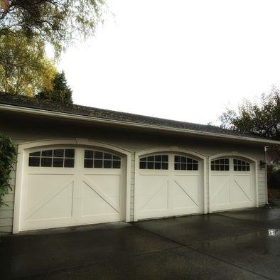 17 best images about garages on pinterest storage sheds for Flat roof garage designs