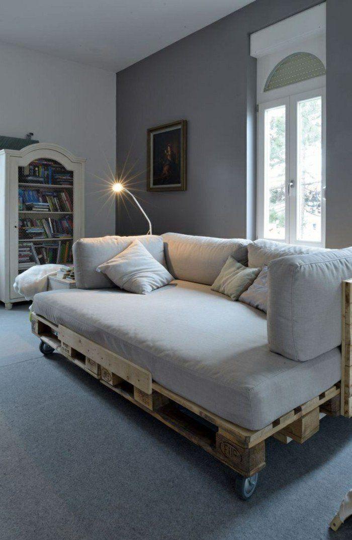 Wohnzimmermobel Aus Paletten Zum Selber Bauen Diy Wohnzimmer