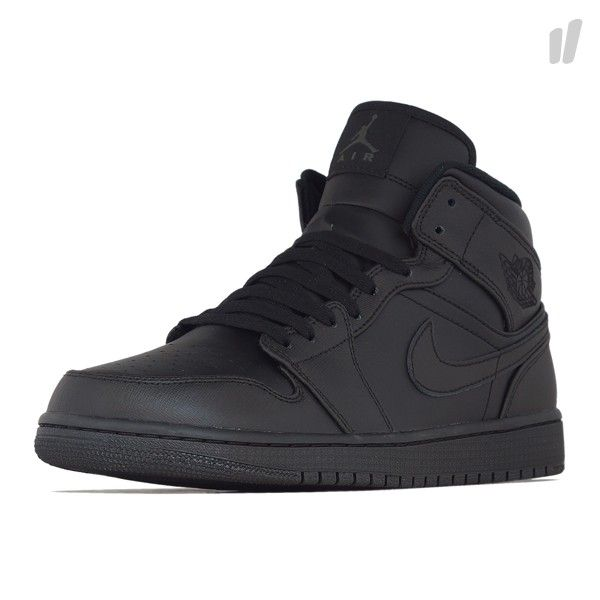 official photos 41e2d 774be Air Jordan 1 Mid- Black on Black