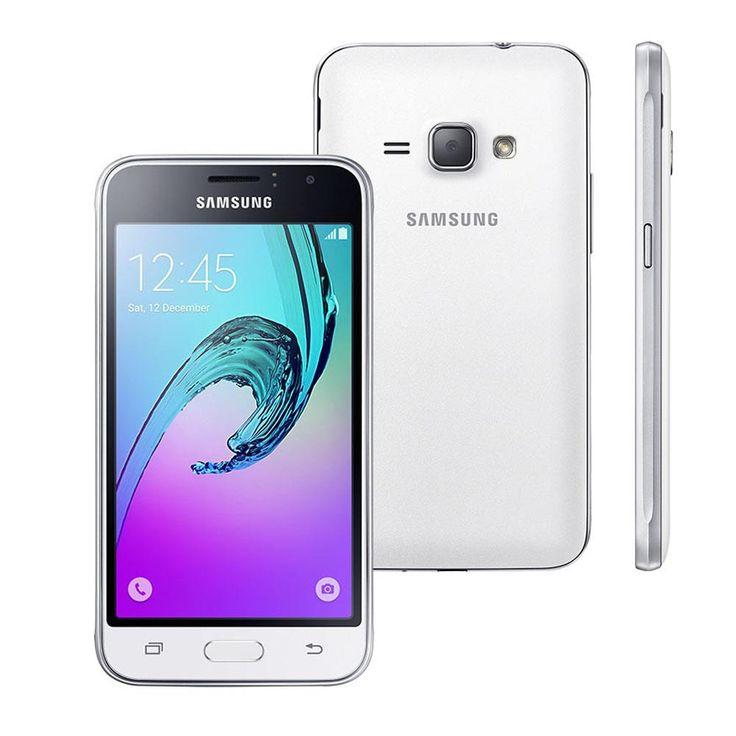 Ponto Frio Smartphone Samsung Galaxy J1 Mini SM-J105B/DL Branco - R$ 476,10
