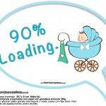 Plaquinhas Divertidas Chá de Bebê Menino 2