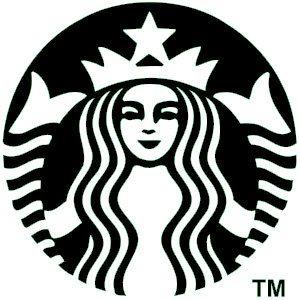 Starbucks vinyl decal by