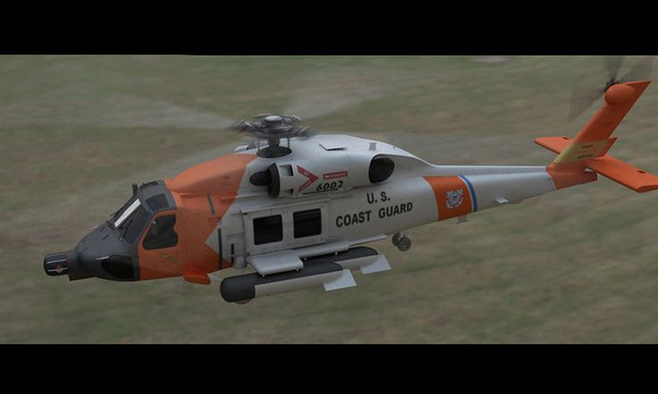 Helicopter HH60J - 3D Graphic - Render Software: Maya - V-Ray