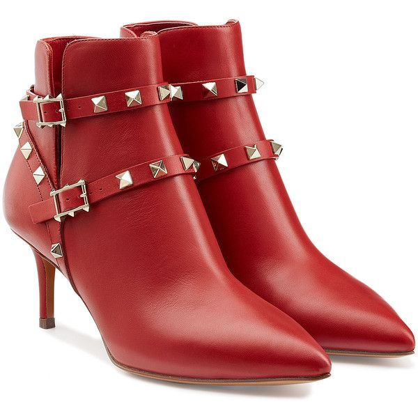 Best 25  Red leather boots ideas on Pinterest | Red women's boots ...