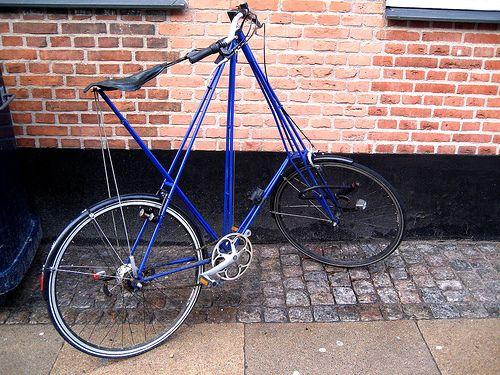 Pedersen Antique Bicycles Bike Frame Mini Bike