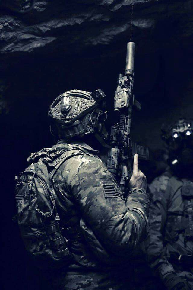 Tempt not the righteous man to draw his sword...Our Warrioes Navy SEAL.