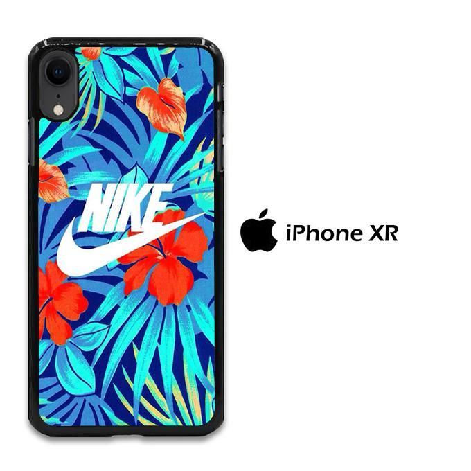 montón Chaise longue Endulzar  Nike The Blue Glowing Floral iPhone XR Case | Floral iphone, Diy phone  case, Apple phone case