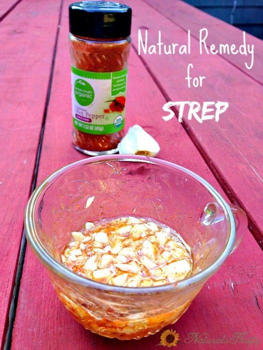 Natural Remedies for Strep, Colds and The Flu