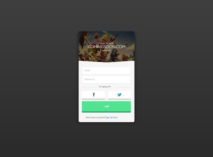 App - Login Screen