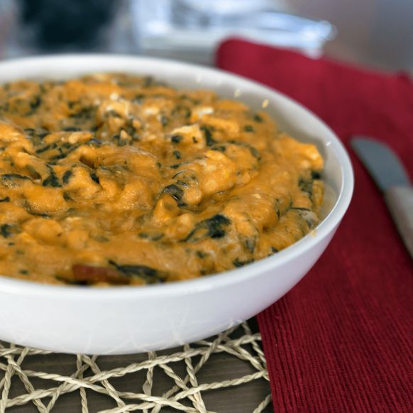 Salsa, cream cheese and Colby jack cheese combine with our spinach to make a zesty dip.