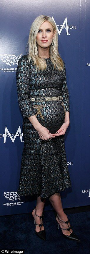Nicky Hilton and Kate Mara support Humane Society gala | Daily Mail Online