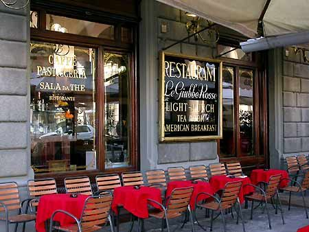 Giubbe Rosse Cafe Florence