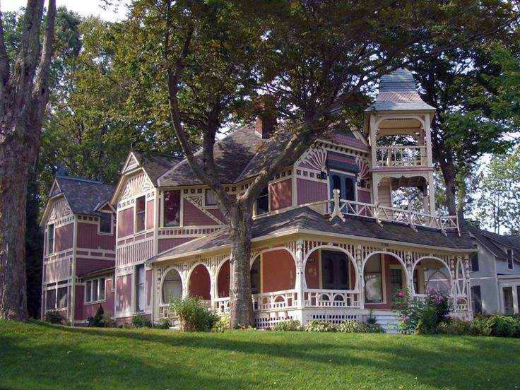 large victorian home