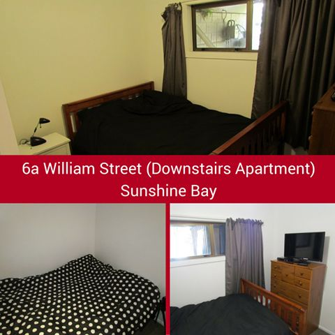 """#Rent A #Room #6A WILLIAM STREET - SUNSHINE BAY: Spacious double room with own bathroom sink and shower in 4 bedroom, 2 bathroom villa in scenic Sunshine Bay.$350 including bills This villa has all the bells and whistles: 40GB WIFI per month, 50"""" Flatscreen TV SKY TV with movies, basic kitchen, complfy lounge, BBQ. More info:http://www.rentaroom.org.nz/6a-william-street-downstairs-apartment-sunshine-bay/ Available NOW. Viewings on appointment."""