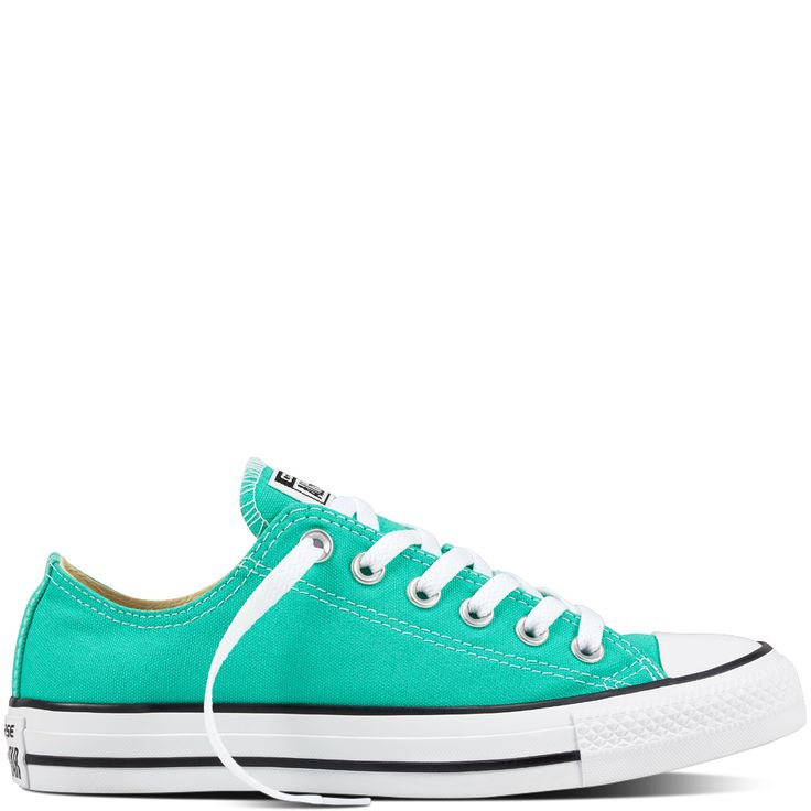 Some forests are fresher than others, and the same sentiment applies to  sneaker style; for this, the Converse Chuck Taylor All Star Seasonal Low  Top Menta ...