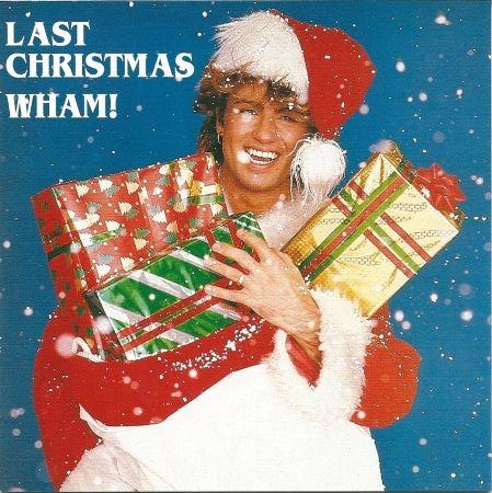 George Michael's Last Christmas album cover