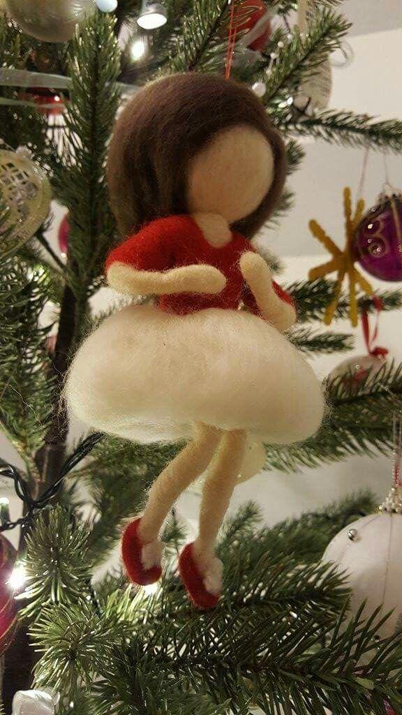 "ornament brad ""Mary Christmas"" :)"