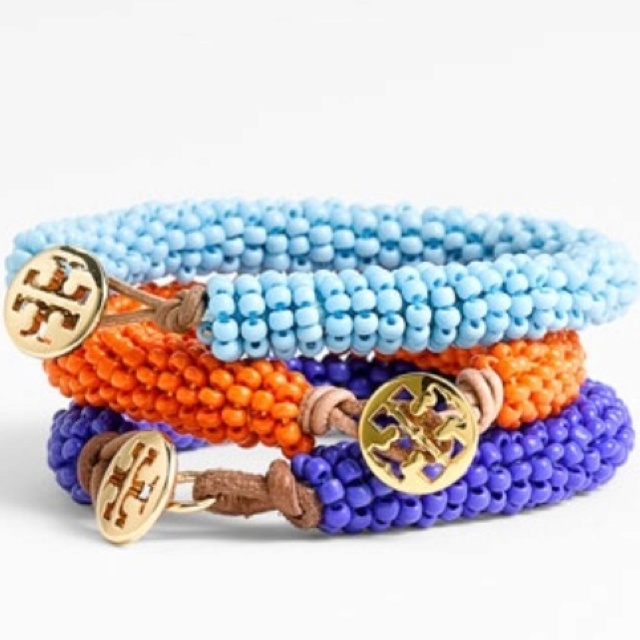 toryFashion, Beads Bracelets, Style, Colors, Tory Burch, Burch Bracelets, Jewelry, Summer Accessories, Toryburch
