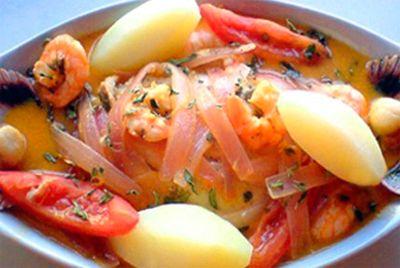 Sudado de Conchas | Peruvian Food