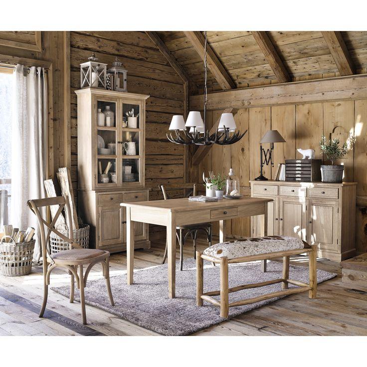 Cool lustre branches en rsine et coton blanc d cm ramure maisons du monde with table maison du - Table maison du monde d occasion ...