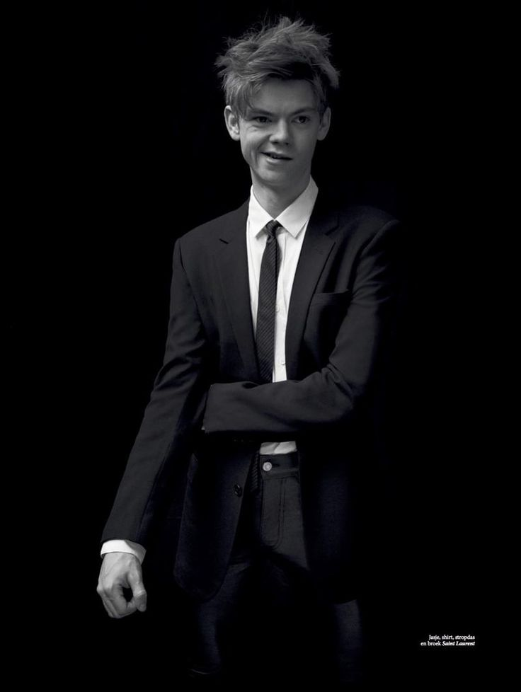 Thomas Brodie-Sangster Covers L'Officiel Hommes NL