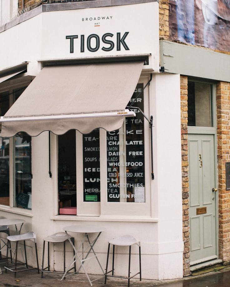 Tiosk Tea on Broadway Market