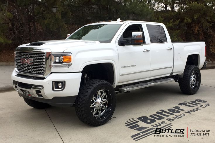 GMC Denali with 22in Fuel Lethal Wheels, Toyo MT Tires, 6in Pro Comp Lift and Fox Shocks