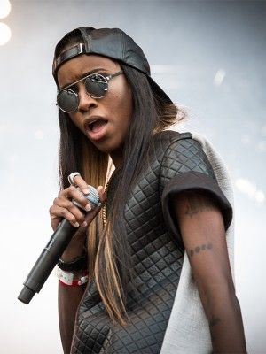 Angel Haze. Quilted black leather colour block oversized shirt.