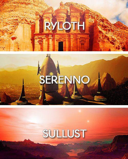 Worlds of the Star Wars Universe: Ryloth, Serenno, Sullust