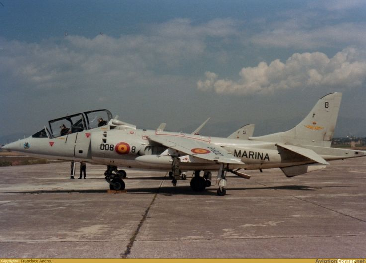 EAV-8B Harrier ll Plus Armada Española                                                                                                                                                                                 Más