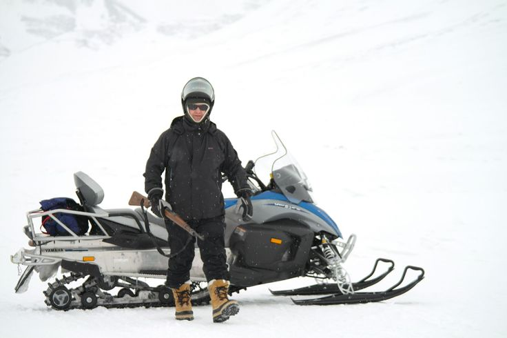Svalbard April 2013, snowmobiling and camping on ice.