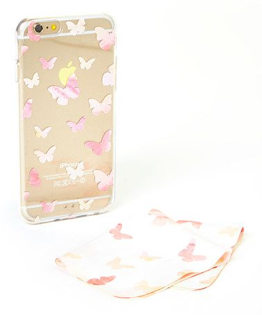 Another great find on #zulily! Transparent Butterfly iPhone Bumper Case by Sodacase #zulilyfinds