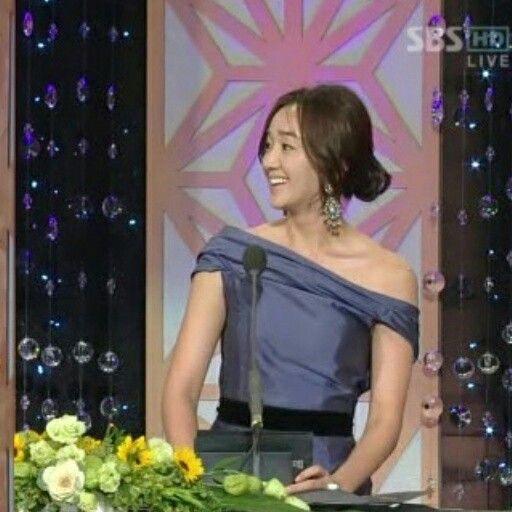 Soo Ae (수애 ) - blue dress